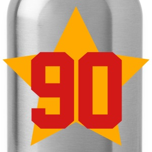 90 star T-Shirts - Water Bottle