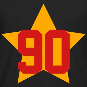 90 star T-Shirts - Men's Premium Long Sleeve T-Shirt