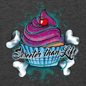 Cupcake - Sweeter than Life - Men's V-Neck T-Shirt by Canvas