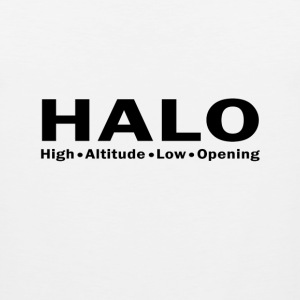 HALO skydive - Men's Premium Tank