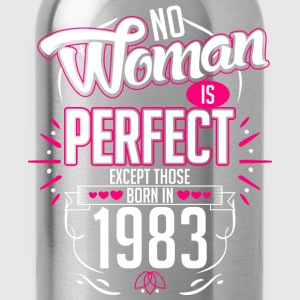 No Woman Is Perfect Except Those Born In 1983 - Water Bottle