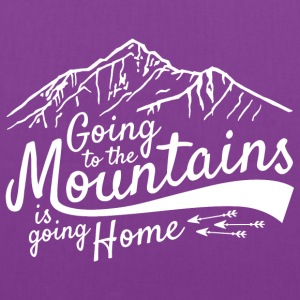 Going to the Mountains - Tote Bag