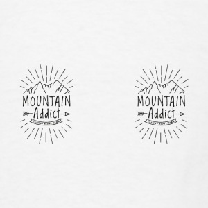Mountain Addict - Men's T-Shirt