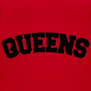 QUEENS, NYC Bags & backpacks - Women's V-Neck T-Shirt