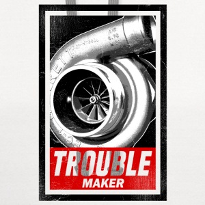 BOOST TROUBLE MAKER  Long Sleeve Shirts - Contrast Hoodie