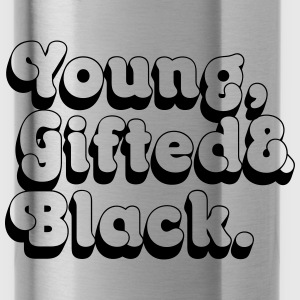 Young, Gifted & Black. Bags & backpacks - Water Bottle