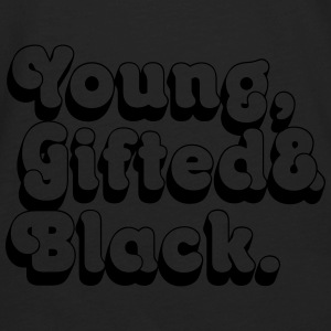 Young, Gifted & Black. Bags & backpacks - Men's Premium Long Sleeve T-Shirt