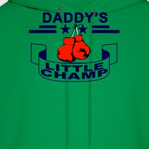 daddys_boxing_little_champ - Men's Hoodie