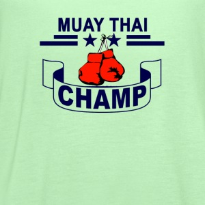 muay_thai_champ - Women's Flowy Tank Top by Bella
