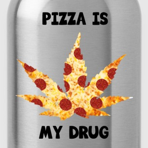 Pizza Is My Drug - Water Bottle