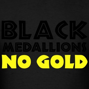 BLACK MEDALLIONS NO GOLD Hoodies - Men's T-Shirt