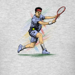 Tennis Sportswear - Men's T-Shirt