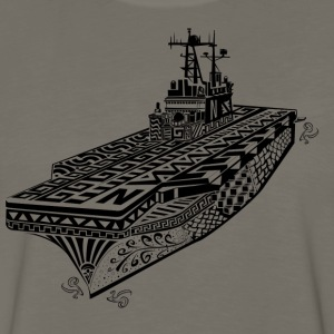 navy_anphib_zen T-Shirts - Men's Premium Long Sleeve T-Shirt