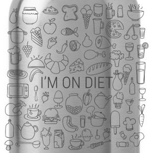 im on diet T-Shirts - Water Bottle