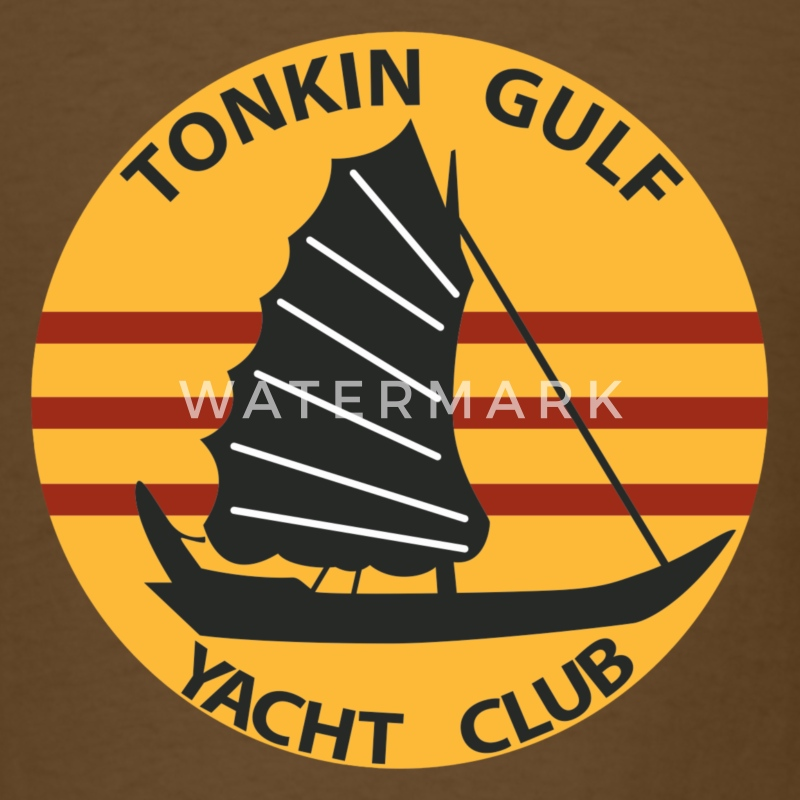 Gulf of Tonkin Yacht Club Shirt - Men's T-Shirt