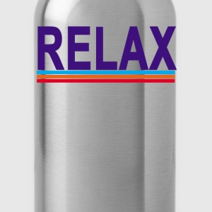 frankie_says_relax - Water Bottle
