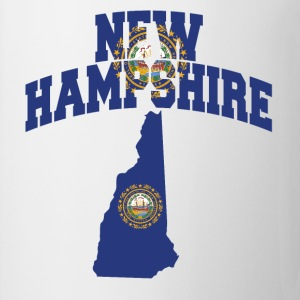 New Hampshire Flag T-Shirt - Coffee/Tea Mug