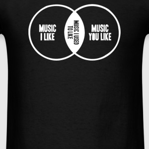 Music I Used To Like Hoodies - Men's T-Shirt
