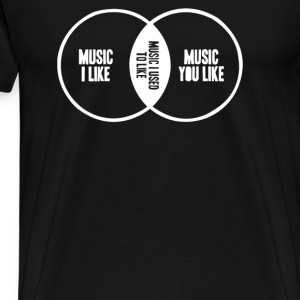 Music I Used To Like Hoodies - Men's Premium T-Shirt