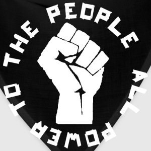 Power to the People rd T-Shirts - Bandana