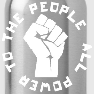 Power to the People rd T-Shirts - Water Bottle