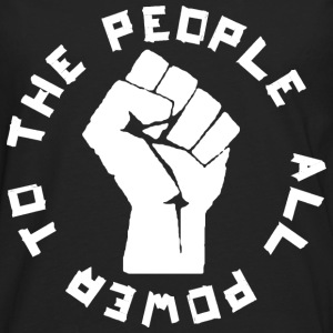 Power to the People rd T-Shirts - Men's Premium Long Sleeve T-Shirt