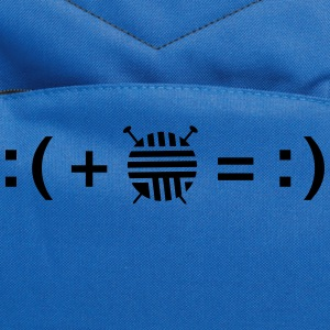 Formula For Happiness (Knitting) T-Shirts - Computer Backpack