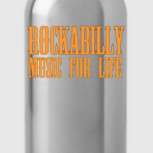 Rockabilly Music For Life - Water Bottle
