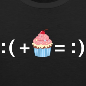 Formula For Happiness (Cupcake) T-Shirts - Men's Premium Tank