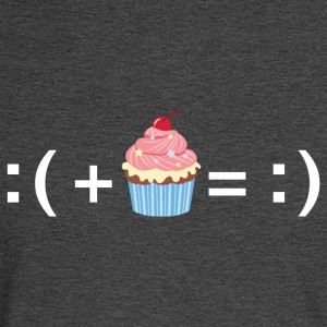 Formula For Happiness (Cupcake) T-Shirts - Men's Long Sleeve T-Shirt
