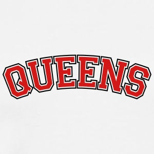 QUEENS, NYC Baby Bodysuits - Men's Premium T-Shirt