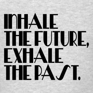 INHALE EXHALE Tanks - Men's T-Shirt
