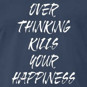 OVER THINKING Sportswear - Men's Premium T-Shirt