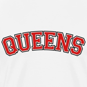 QUEENS, NYC Tanks - Men's Premium T-Shirt