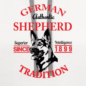 German Shepherd Tradition T-Shirts - Contrast Hoodie