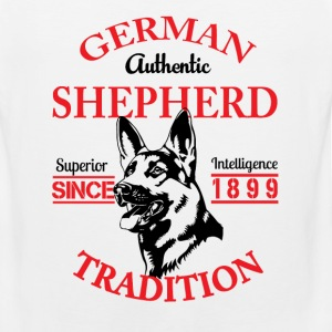 German Shepherd Tradition T-Shirts - Men's Premium Tank
