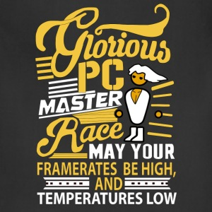 Glorious PC Master Race - Adjustable Apron