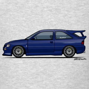 Escort Mark V RS Cosworth Pacifica Blue Hoodies - Men's T-Shirt