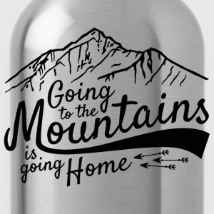 Going to the Mountains  - Water Bottle