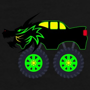 Dragon Monster Truck - Men's Premium T-Shirt