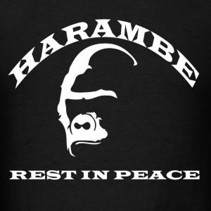 Harambe Rest In Peace - Men's T-Shirt