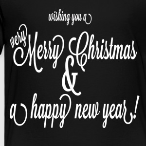 xmas and happy new year - Toddler Premium T-Shirt