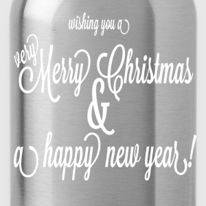 xmas and happy new year - Water Bottle