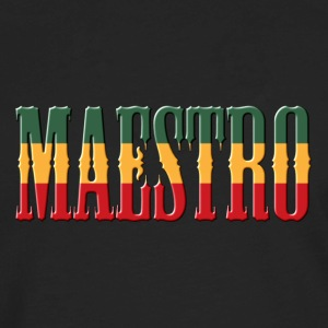 reggae maestro bold - Men's Premium Long Sleeve T-Shirt