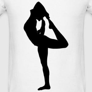 Yoga Pose Tank - Men's T-Shirt