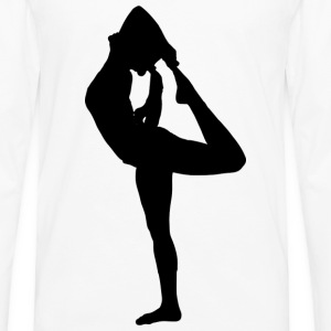 Yoga Pose Tank - Men's Premium Long Sleeve T-Shirt