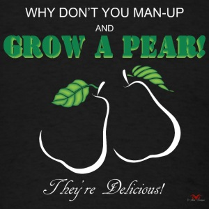 Grow a Pear-dark prints - Men's T-Shirt
