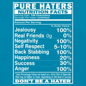 Pure Haters Facts Tanks - Women's T-Shirt