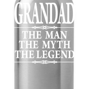 Grandad The Man The Myth - Water Bottle