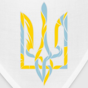 Water and fire Ukrainian trident - Bandana
